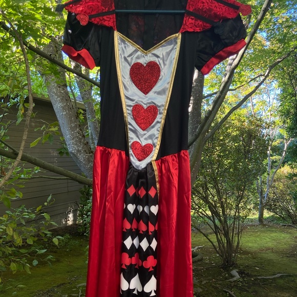 Queen of Hearts costume adult size S